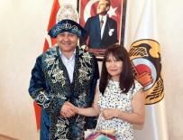 TÜRKIYE GAZETECILER FEDERASYONU - Yücel, Kazak Gazetecileri Ağırladı