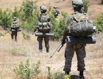 DERECIK - Kuzey Irak'ta 1 asker şehit