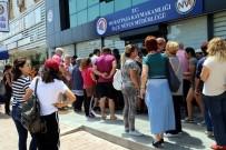 KİRA SÖZLEŞMESİ - Antalya'da Nüfus Müdürlükleri Önünde Seçim Kuyruğu