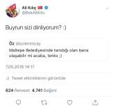 ALI KıLıÇ - Başkan Twitter'dan Hızır Gibi Yetişti