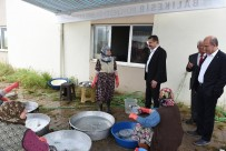 BOĞAZKÖY - Başkan Yılmaz Köy Hayırlarında