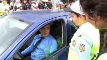 KIZILAY MEYDANI - Başkent Trafiğini Çocuk Polisler Denetledi