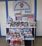 Bin 800 Paket Sigara Hırsızlığının Zanlısı Yakalandı