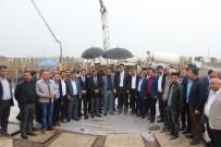 TRAFİK SORUNU - Bismil'de Oto Galeri Sitesinin Temeli Atıldı