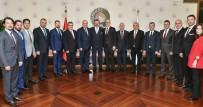 ADEM YıLMAZ - BTO Yönetiminden Hisarcıklıoğlu'na Ziyaret