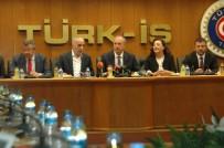 YABANCI YATIRIMCI - Cumhurbaşkanı Adayı İnce, Türk-İş Ve DİSK'i Ziyaret Etti