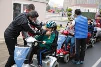 ARAÇ KULLANMAK - Engelli Minikler Trafik Kurallarını Öğrendi