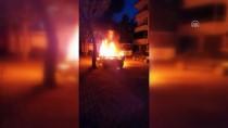 RAUF DENKTAŞ - Karaman'da Otomobil Yangını