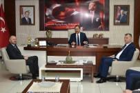 KEMAL ÖZER - Keleş Ve Ekibi Başkan Uysal'ı Ziyaret Etti