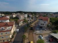 TRAFİK YOĞUNLUĞU - Manavgat Sorgun Bulvarı'nın Asfaltı Yenileniyor