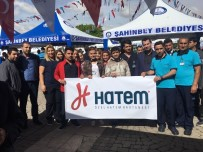 ŞAHINBEY BELEDIYESI - Özel Hatem Hastanesi Kan Bağışı Kampanyasına Katıldı