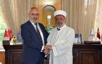 DEVİR TESLİM - Prof. Dr. Ali Akpınar, Görevini Ahmet Poçanoğlu'na Devretti
