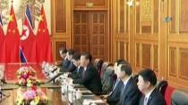 ÇİNLİ - Şi Cinping İle Kim Jong-Un Çin'de Görüştü
