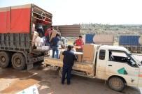 BEBEK MAMASI - Yardım TIR'ları Afrin'e Ulaştı