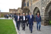AHMET TÜRK - 4 Ülkenin Ankara Büyükelçisinden Ahmet Türk'e Özel Ziyaret