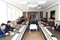NACI KALKANCı - Adıyaman'da Seçim Güvenliği Toplantısı Yapıldı