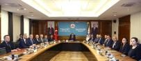 ADEM ALI YıLMAZ - ATO'dan Gümrük Ve Ticaret Bakanı Tüfenkci'ye Ziyaret
