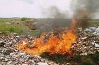 BENZIN - Balıklar Ateşe Verildi
