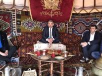 AVRASYA - Başkan Mustafa Çelik, Etnospor Kültür Festivali'nde Kayseri Standını Gezdi