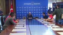 MİLLİ GÜREŞÇİLER - Başkan Tuna, Milli Güreşçileri Kabul Etti