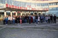 HASAN ÇOBAN - Burhaniye'de 450 Öğrenci Çanakkale'ye Yolcu Edildi