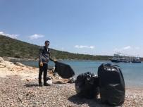 GEZİ TEKNESİ - Çeşme'deki Adalarda Sezon Temizliği