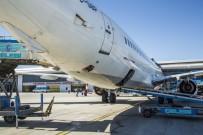 UÇAK TRAFİĞİ - Erzurum Havalimanı'nda Nisan Ayında 123 Bin 961 Yolcuya Hizmet Verildi