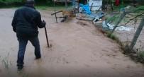 Gercüş'te Arı Kovanları Sular Altında Kaldı