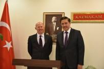 BODRUM KAYMAKAMI - İngiltere'nin Ankara Büyükelçisi Chilcott, Bodrum'da