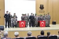 Karaman'da Bir Günlük Askerlik Yapan 19 Engelli, Düzenlenen Törenle Yemin Etti