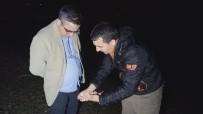 YÜZÜNCÜ YıL ÜNIVERSITESI - Kaymakam Yücel'in Gece Balık Nöbeti