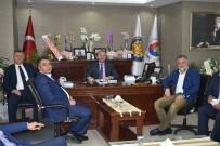 AHMET TÜRK - Kdz. Ereğli TSO'ya 'Hayırlı Olsun' Ziyaretleri Devam Ediyor