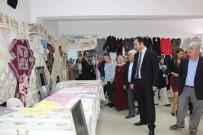 Lapseki Halk Eğitim Merkezi Yıl Sonu Sergisi Açıldı