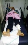 UNKAPANı - Otomobilin Çarptığı Iraklı Çocuk Yaralandı