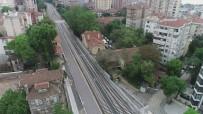 HAYDARPAŞA - (Özel) Yüzde 78'İ Tamamlanan Yüksek Hızlı Tren Projesi Havadan Görüntülendi