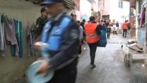 SARIYER ÇAYIRBAŞI - Sarıyer'de Uyuşturucu Zulası Olarak Kullanılan 8 Kaçak Yapı Ve Metruk Bina Yıkıldı