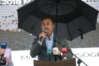 ALAADDIN KEYKUBAT - Bakan Çavuşoğlu Memleketi Alanya'da Mezuniyet Törenine Katıldı