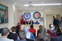 HIZMET İŞ SENDIKASı - Başbakan Yardımcısı Recep Akdağ, Hizmet İş Sendikasında Toplantı Düzenledi