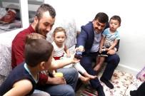 BÖBREK HASTASI - Başkan Fadıloğlu'ndan İftar Öncesi Aile Ziyaretleri