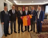 ABDURRAHIM ALBAYRAK - Başkan Mustafa Cengiz'den Ankara Ziyareti