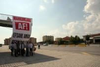 DENIZLISPOR - Cezaevinden Tahliye Olan Amigoya Pankartlı, Davullu, Zurnalı Karşılamaya Jandarma Engeli