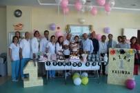 KARACİĞER NAKLİ - Doğum Gününü Nakil Olduğu Hastanede Kutladı