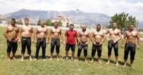 GÜREŞ TAKIMI - Döşemealtı Güreşçileri Kampa Girdi
