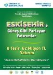 Eskişehir'e 62 Milyon TL'lik 8 Tesis