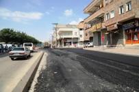İBRAHIM DEMIR - Eyyübiye'de Asfaltlama Çalışmaları Sürüyor