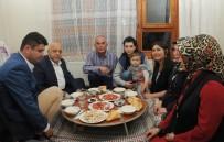 KAPSAM DIŞI - HAK-İŞ Genel Başkanı Arslan İftarda Taşeron Emekçinin Evine Konuk Oldu