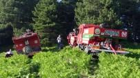 Kazdağları'nda Çıkan Orman Yangını Büyümeden Söndürüldü