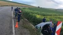 Kırıkkale'de Trafik Kazası Açıklaması 1 Ölü, 4 Yaralı