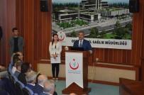 BAKIM MERKEZİ - Osmaniye'ye 600 Yataklı Devlet Hastanesi Yaptırılıyor