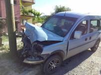 İSMAIL KARAKUYU - Pazarlar'da Trafik Kazası Açıklaması 3 Yaralı